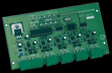 Modulo HUB porte RS-485