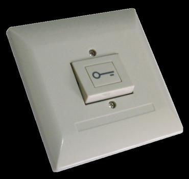 Pulsante d'uscita in plastica per controllo accessi e antintrusione