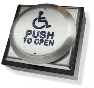 Pulsanti Disabile in Acciaio Inox Antivandalo RTEPTOD per controllo accessi e antintrusione