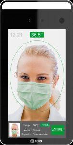 Rilevazione Temperatura corporea e utilizzo mascherina