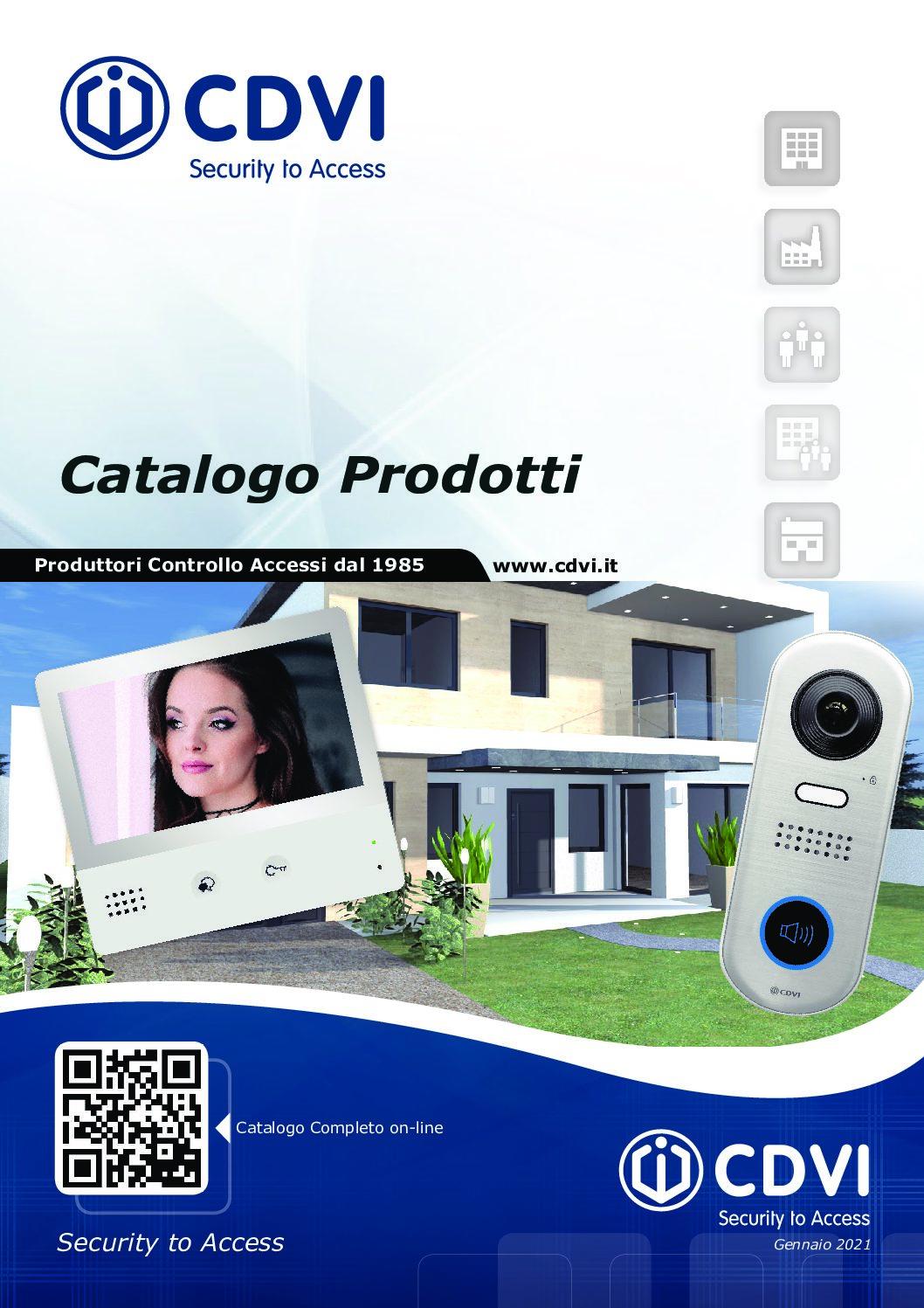 Videocitofonia Digitale Catalogo Gennaio 2021