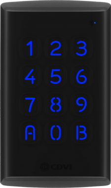 K3 Tastiera + Lettore DESFire EV2 Mifare e Bluetooth in Policarbonato