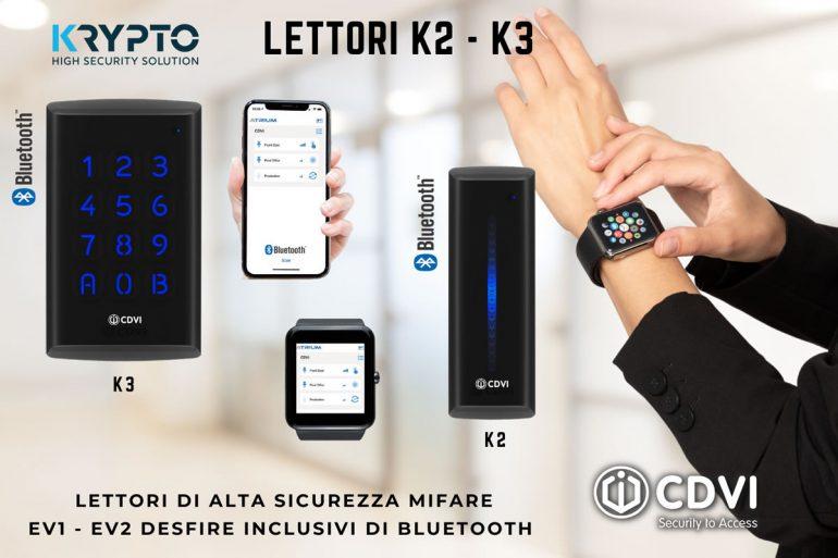 Lettori con Bluetooth: il controllo accessi comodo e funzionale